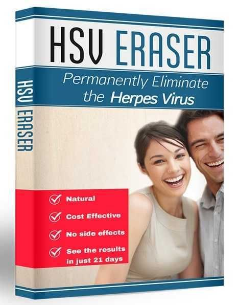 HSV ERASER is a holistic cure for herpes. HSV Eraser consists of natural herpes remedies. hsv eraser has no side effects.