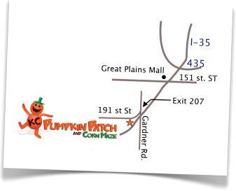 KC pumpkin patch and corn maze - Gardner KS