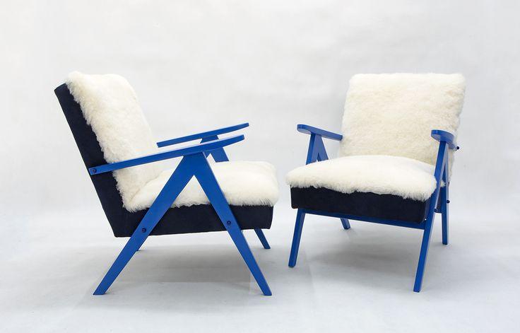 "Fotel Futrzak ""Fala Bałtyku"" http://polish-design.co.uk/portfolio/fotel-futrzak-fala-baltyku/"