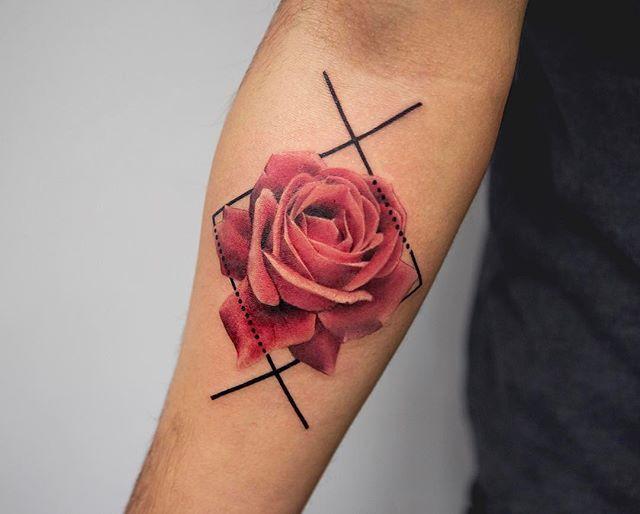 #ink #tattoo #bangbangnyc #flower #inspo