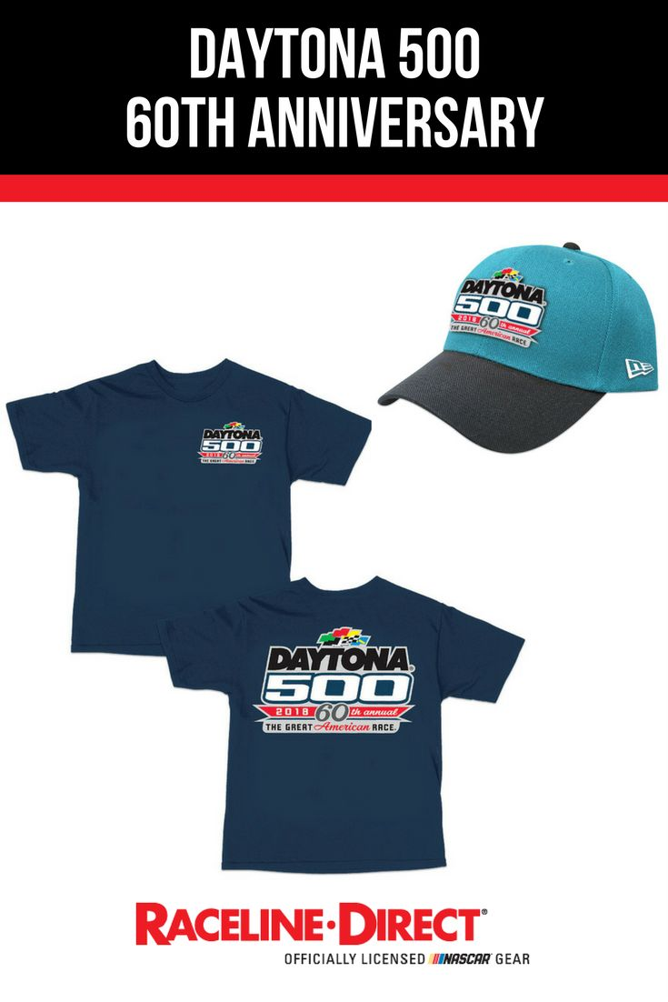 Celebrate the 60th Anniversary of the Daytona 500 in style