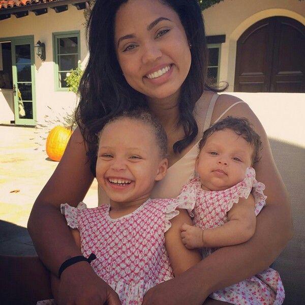 Ayesha, Riley and Ryan Curry