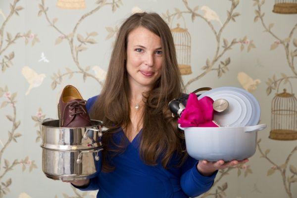 Tara Button est la fondatrice de BuyMeOnce, une boutique certifiée sans obsolescence programmée (Crédit : BuyMeOnce)