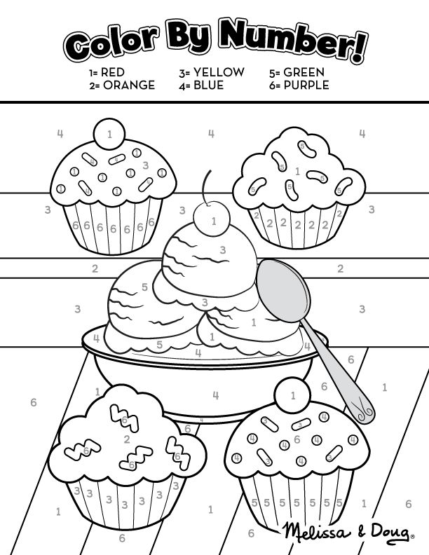 Sweet Treats Educational Printable Activity Pages for Kids ...