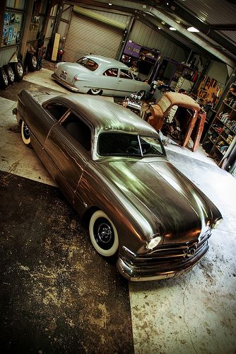 the garage classic car