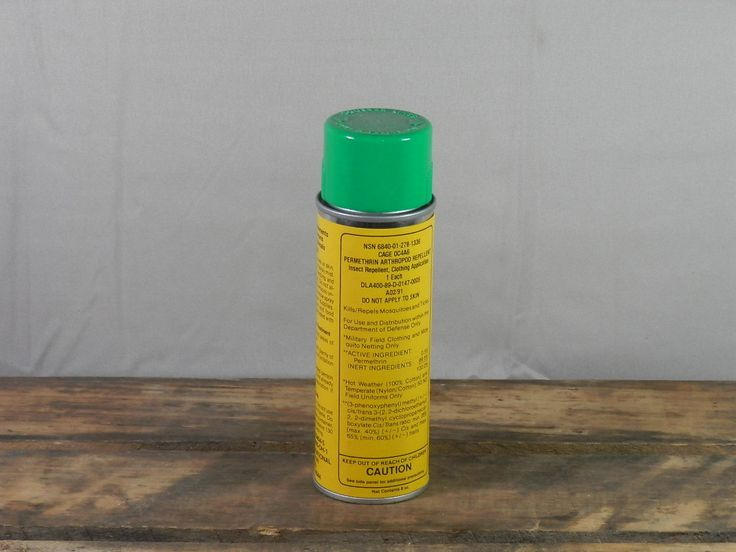 Vintage Military Surplus Permethrin Arthropod Repellent for Clothing ONLY 6 oz. Mosquito Tick Insect Spray by WesternKyRustic on Etsy