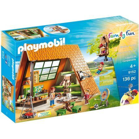 Playmobil Camping Lodge, Multicolor