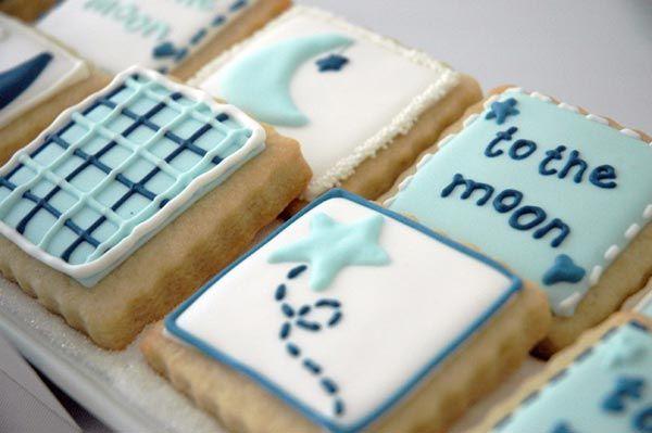 Super cute baby shower cookies!