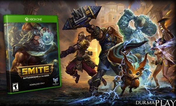 http://rip.tc/smite-xbox-one-aik-beta-8-temmuzda-basliyor/4844/  Amerikali video oyun gelistirme sirketi Hi-Rez Studios'un Unreal Engine 3 oyun motoru üzerinde gelistirip, 25 Mart 2014 tarihinde Windows oyuncularinin begenisine sundugu ünlü MOBA ve aksiyon oyunu Smite, geçtigimiz aylardan bu yana sürdürdügü Xbox One Kapali Beta sürecinde yeni bir asamaya geçiyor  Hi-Rez Studios tarafinda gerçeklestirilen duyuru ekseninde konsol platformu üzerinde süren kapali b