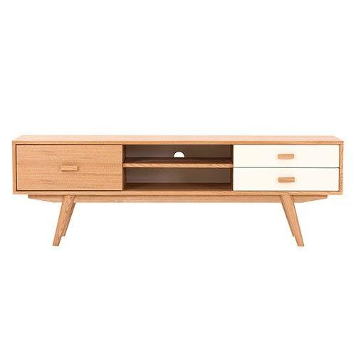 Sofia TV Stand - 3 Drawer - Scandinavian Furniture