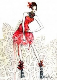 kathryn elyse: Fashionsketch, Fashion Design, Google Search, High Fashion, Girls Fashion, Fashion Trends, Birds Of Paradise, Fashion Illustrations, Fashion Sketch