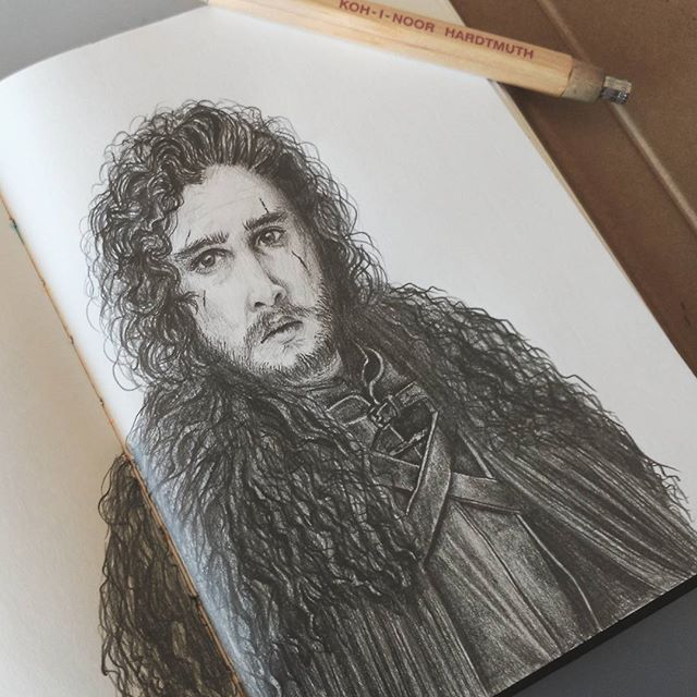 You know nothing Jon Snow #jonsnow #drawingoftheday #drawing #art #sketch #illustration #draw #pencil #instaart #drawings #sketchbook #artoftheday #pencildrawing #instadraw #instaartist #picoftheday #artsy #illustrator #photooftheday #instagood #instadaily #bestoftheday #pictureoftheday #artist #sketching #portrait #myart #gameofthrones #got #winteriscoming