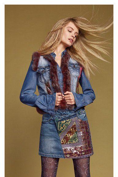 Colección Exotic Jeans. Denim Otoño-Invierno Desigual. ¡Descubre todas las novedades de la nueva colección!