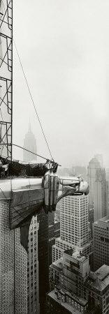 Chrysler Building, Eagle Art Print: Vintage Photographs, Buildings B W, Poster, Chrysler Building, Photography