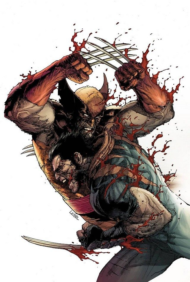 """Leinil Francis Yu - Wolverine in """"Age of Ultron"""""""