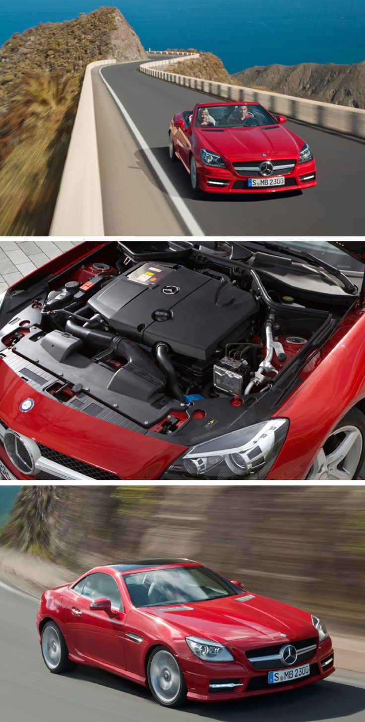 Being economical does not mean compromising on fun the slk combines sports car performance with