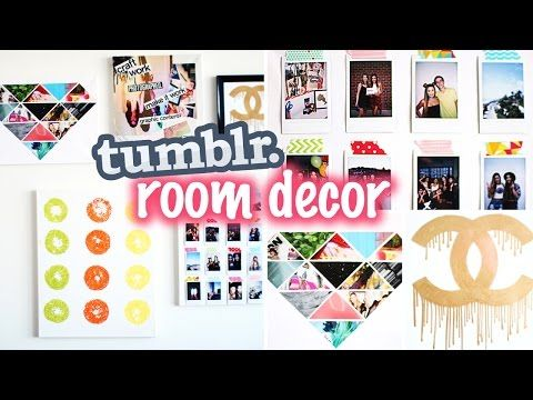 DIY Tumblr Inspired Pillows to Decorate Your Room! | LaurDIY - YouTube