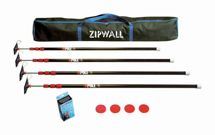 Details About Zipwall Steel 4 Pole Kit Pole Ebay Steel