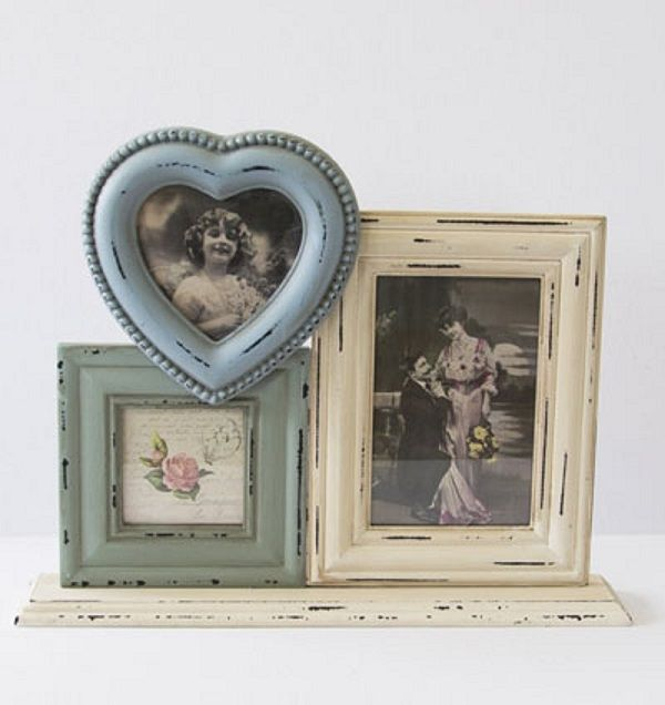 Cream and Blue Multiframe Freestanding £19.49 FREE UK Delivery.  www.ragstorichesuk.com