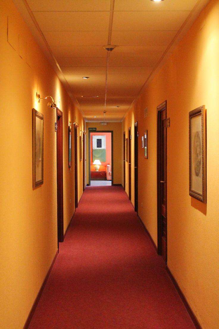 Pasillo de hotel