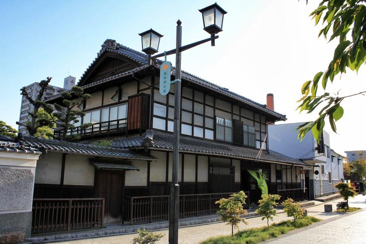 Nikitatsu sake in Dogo, Matsuyama