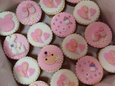 Ideas de Cupcakes para Baby Shower ~ Blog del Bebe