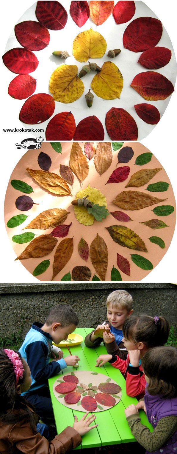 mandalas d'automne