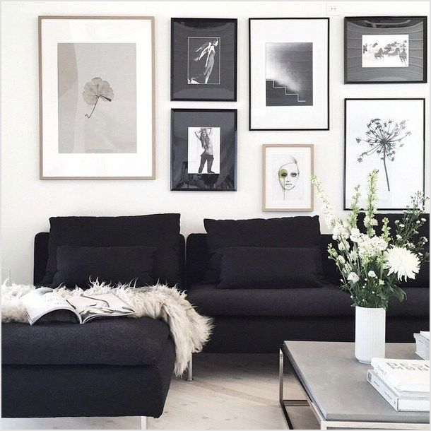 42 Stunning Aesthetic Room Accessories 87 Black And White Aesthetic Tumblr Rooms To Pin On Black And White Living Room Wall Decor Living Room Living Room Decor