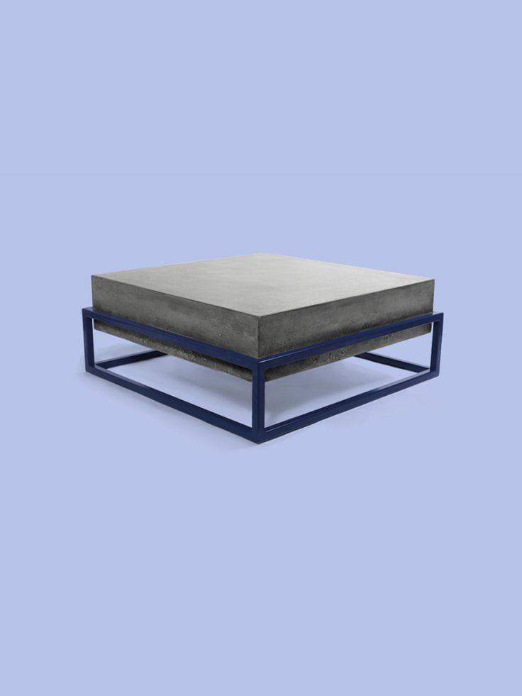 Set Workshop L Cube Coffee Table Navy