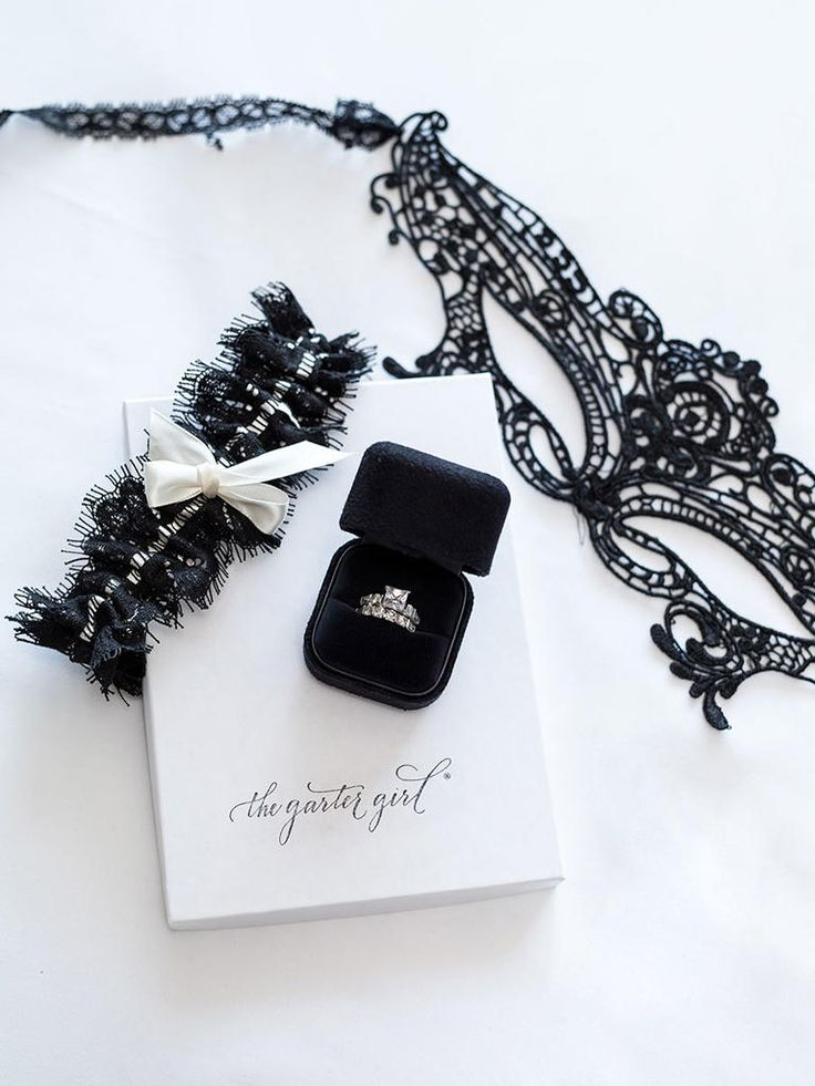 Featured The Knot Sparkle WeddingWedding BellsBridal GartersBlack