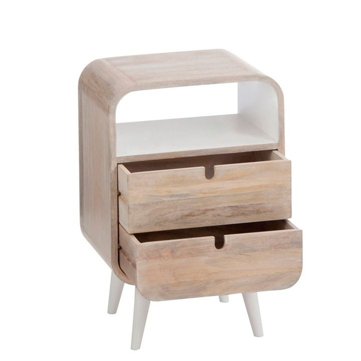 Mesilla Retro 2 Cajones | Muebles | Gourmandise Concept Market