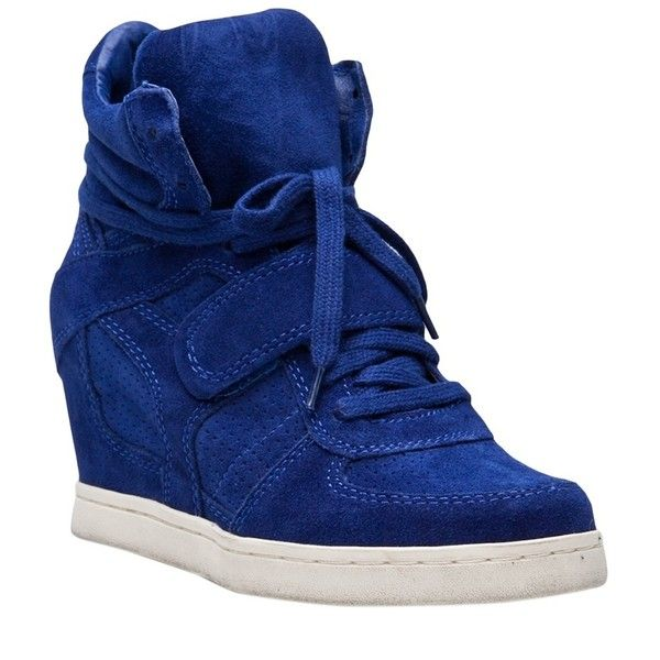 Ash Sneaker Wedge ($250) ❤ liked on Polyvore