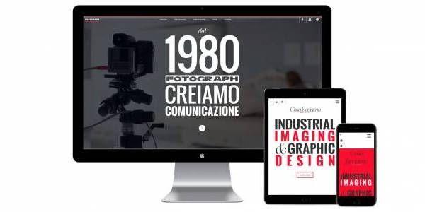 Per lo studio di fotografia industriale Fotograph abbiamo realizzato un nuovo sito web caratterizzato dal forte impatto visivo. Il design è ottimizzato per una corretta fruizione e navigazione anche da dispositivi mobile, e presenta i contenuti audiovisivi con animazioni ed effetti grafici.  www.fotograph.it