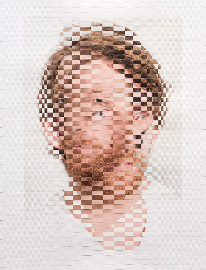 Woven Portraits by David Samuel Stern | Inspiration Grid | Design Inspiration