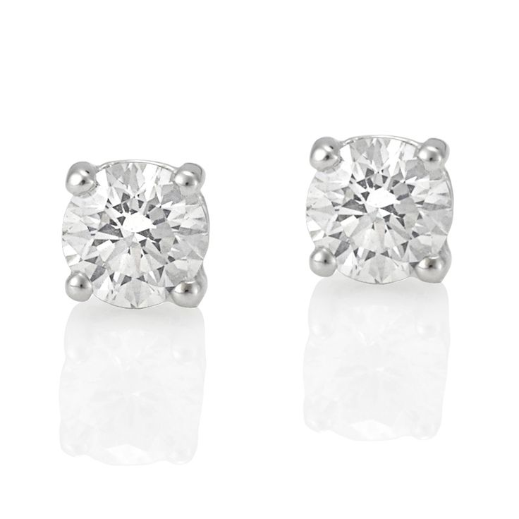 Simple and Elegant for the wedding day .. xx  Nicholas Haywood Jewellery Concierge - White Gold Diamond Stud Earrings 2 = 1.02ct, $4,200.00 (http://nhjc.mybigcommerce.com/18ct-white-gold-diamond-stud-earrings-2-1-02ct/)