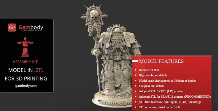 Warhammer 40k 3d models chaplin 3dprintings 40k for 3 by 3 prints