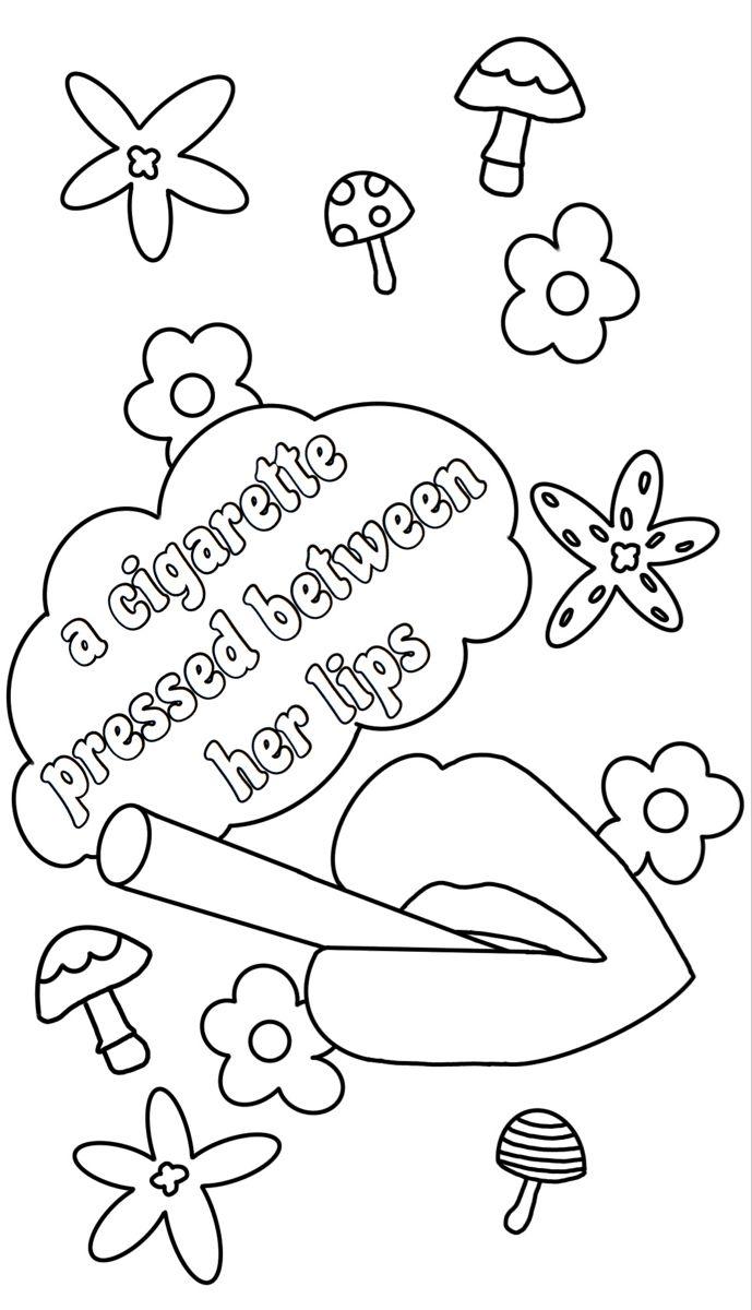 sublime #badfish #floral #coloringpage #coloringbook #color