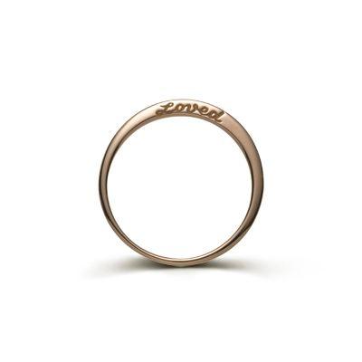 Loved Ring 18k Rose Gold & Diamonds