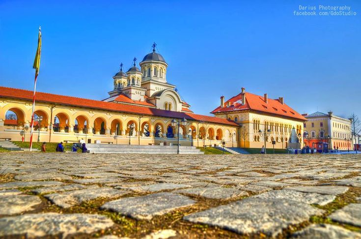 Alba Iulia's Romanian Orthodox cathedral