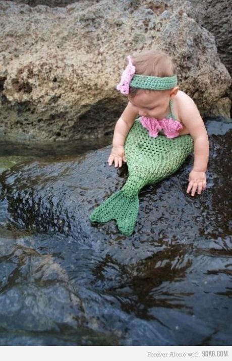 Baby Mermaid, ça ressemble aux rochers de groix