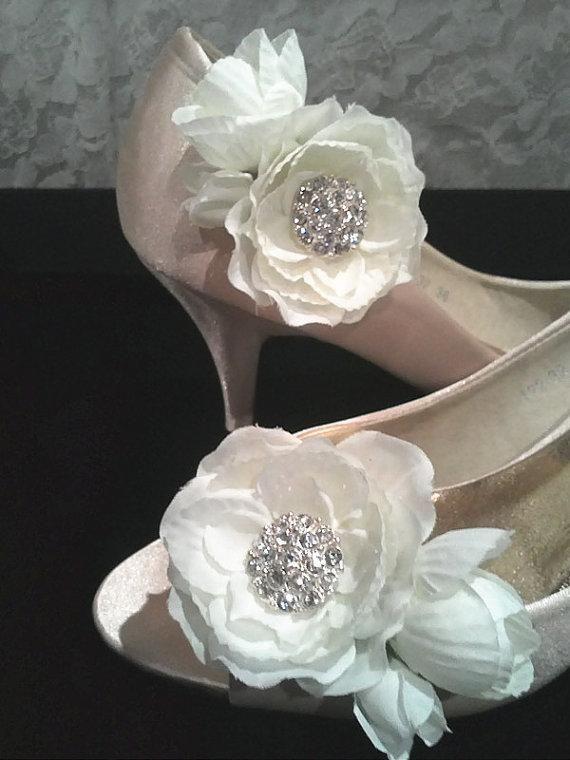 DIY Shoes Refashion: DIY Shoe Clips