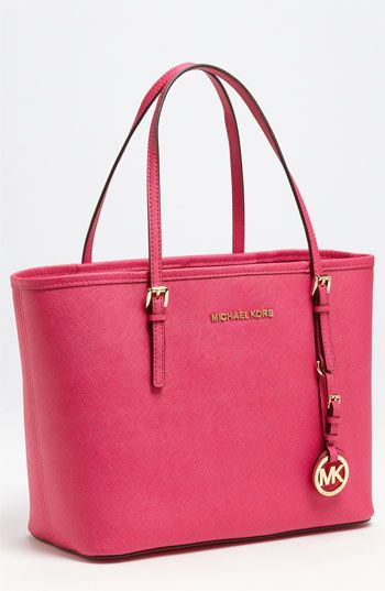 MICHAEL Michael Kors 'Jet Set - Small' Travel Tote available at Nordstrom. I want in black