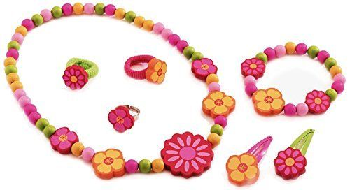 Amazon.com: Djeco Princess Daisy Jewellery by Djeco: Toys & Games