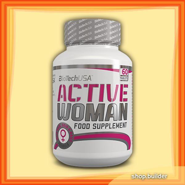 BioTech USA Active Woman(60 tabletta)