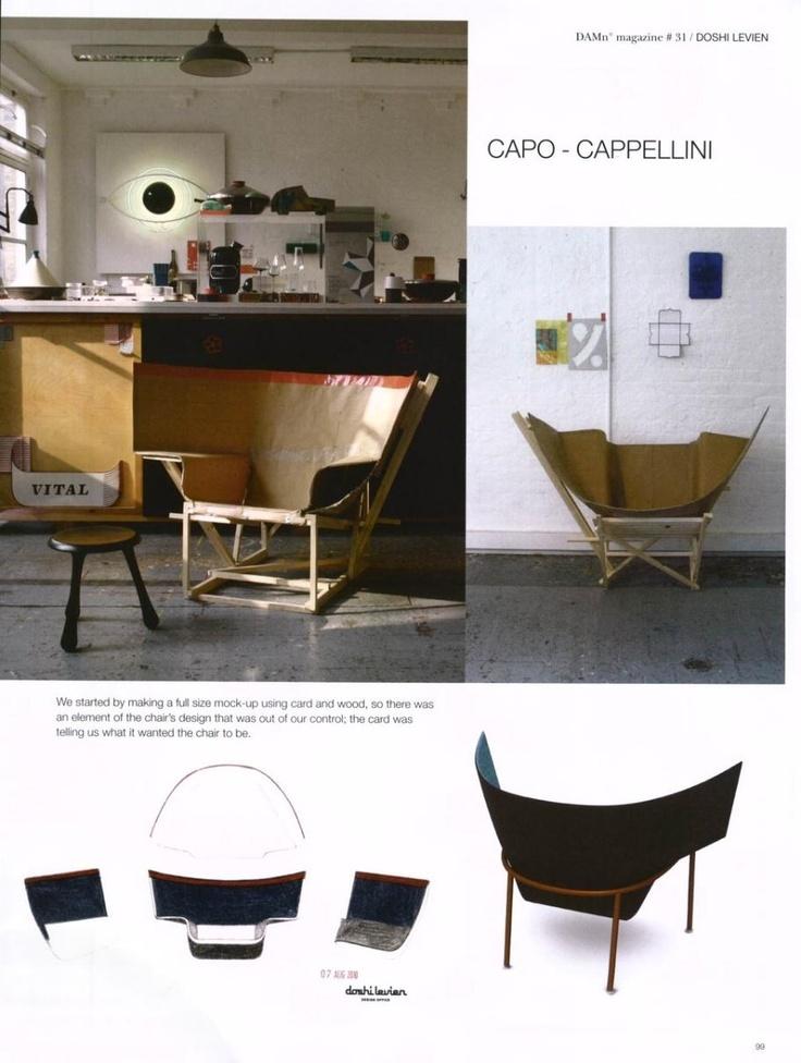 CAPPELLINI - Capo armchair by Doshi Levien