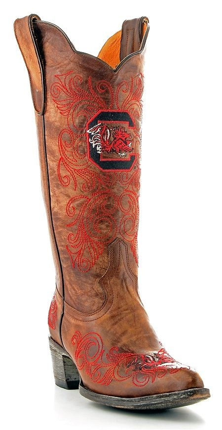 Womens Gameday Boots South Carolina.you can order them at belk.comCarolina Boots, Boots Women, Carolina Gamecock, Carolina Fans, Boots South, Cowboy Boots, Gamecock Gameday, Gameday Boots, South Carolina