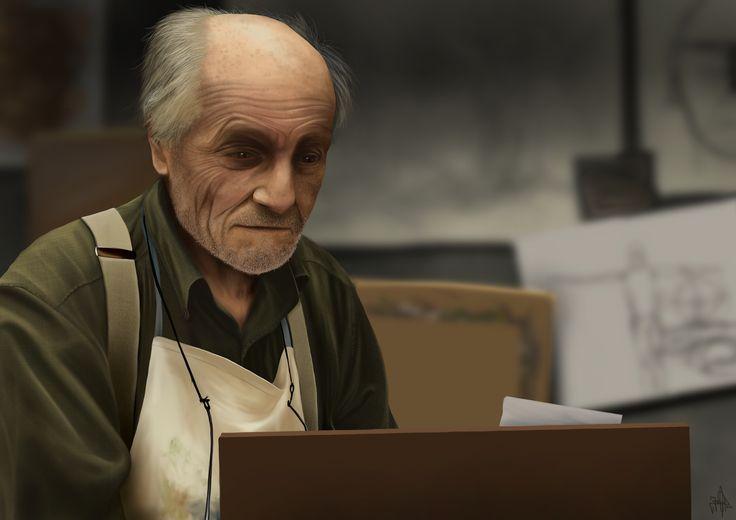 Jaime Sanjuan: El viejo Maestro / The old Master
