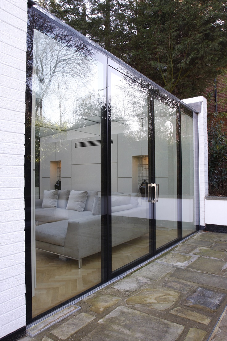 Bespoke Flush Glazed doors by IQ Glass