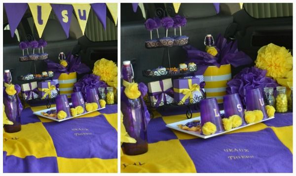 53 Best Lsu Bday Party Images On Pinterest  Anniversary. Ideas For Game Room Decor. Slipcovered Dining Room Chairs. 9 Piece Dining Room Table Sets. Home Office Decor. Charlie Brown Decorations. 3 Season Room Decorating Ideas. Nautical Dining Room. Cheap Way To Decorate Living Room