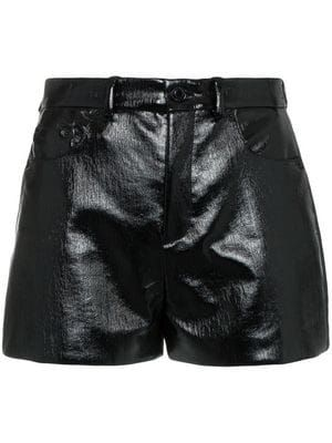 35e1f66c1ff6 shorts con efecto vinilo | Fashion Girls en 2019 | Pantalones de ...